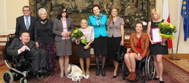 Wręczenie nagród w konkursie Lady D. w 2012 r. Źródło: Sejm RP