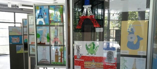 Wystawę prac uczniów klas I-III można oglądać do 1 września, kiedy to odbędzie się wręczenie nagród