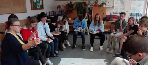 Danuta Jazłowiecka na 14. Sesji Selekcyjnej Europejskiego Parlamentu Młodzieży w Opolu