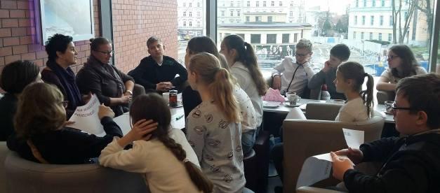 Mikołajkowe spotkanie z młodzieżą z Ozimka