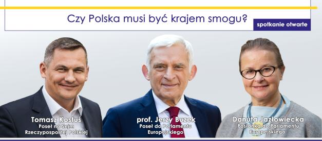 Czy Polska musi być krajem smogu? Spotkanie otwarte!