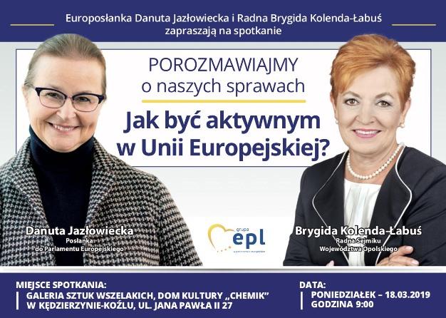 Spotkanie w Kędzierzynie-Koźlu już 18.03!