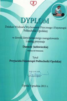 Wydział Wychowania Fizycznego i Fizjoterapii Politechniki Opolskiej