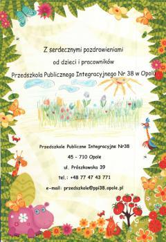 Przedszkole Publiczno Integracyjne nr 38 w Opolu