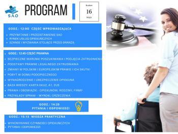 Program warsztatów